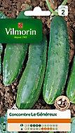 Graines de Concombre Le Généreux Vilmorin