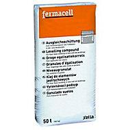 Granules d'égalisation sol Fermacell 50L (vendu au sachet)