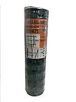Grillage rouleau soudé maille 100 x 75 mm vert 25 x h.1 m