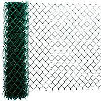 Grillage simple torsion vert 50 x 50mm, L.20 x h.1 m