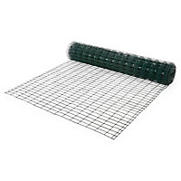 Grillage soudé Blooma maille 50 x 100 mm vert 20 x h.1,5 m
