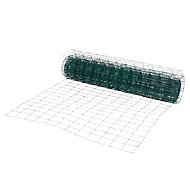 Grillage soudé Blooma maille 75 x 100 mm vert 25 x h.1,2 m