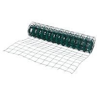 Grillage soudé maille 100 x 100 mm vert 20 x h.1,2 m