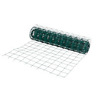 Grillage soudé maille 100 x 100 mm vert 20 x h.1 m
