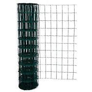 Grillage soudé vert maille 100 x 76mm, L.20 x h.1 m