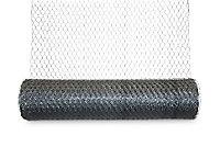 Grillage triple torsion Blooma maille 25 x 25 mm galva 25 x h.1 m