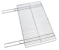 Grille de barbecue double Blooma 68 x 40 cm