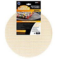 Grille de barbecue ronde découpable