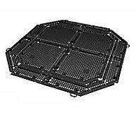 Grille de fond pour composteur Garantia noir 400/600L