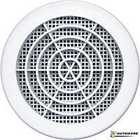 Grille de ventilation Ø 123 mm blanche
