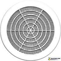 Grille de ventilation Ø 182 mm blanche
