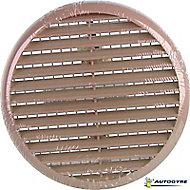 Grille de ventilation à clipser Ø 80 à 125 sable