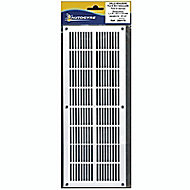 Grille menuiserie extra-plate 337x131 blanche