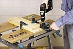 Guide de perçage pour l'assemblage avec tourillons Wolfcraft ø6/8/10 mm