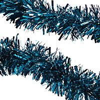 Guirlande 2 m bleue