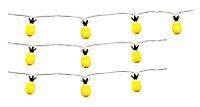 Guirlande ananas à pile 10 têtes IP44
