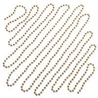 Guirlande de perles 5 m champagne