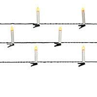 Guirlande lumineuse 20 bougies blanc chaud