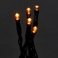 Guirlande lumineuse Frange 1000 LED blanc chaud