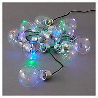 Guirlande lumineuse LED Fernie en verre et métal, 5 m.