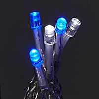 Guirlande lumineuse Rideaux 300 LED multicolore