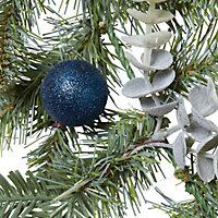 Guirlande sapin bleue