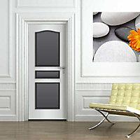 Habillage de porte Panoporte prépeint 3 panneaux doucine