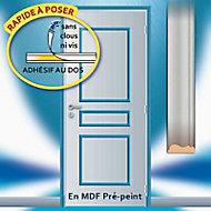 Habillage de porte Skylab en MDF 3 panneaux droits