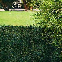 Haie artificielle 3 couleurs Blooma 3 x h.1,2 m