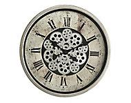 Horloge grise Ø 46 cm