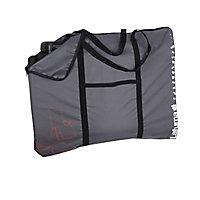 Housse de transport relaxe ou lit siesta Lafuma anthracite 100 x 4 x 82 cm
