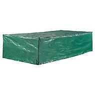 Housse pour table vert 240 x 120 x 60 cm