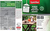 Huile bois Nature Protect extérieur Syntilor 1L Mat Naturel