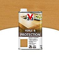 Huile et protection meubles et boiseries V33 miel mat 0,5L