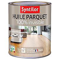 Huile parquet Syntilor 100% invisible mat 1L