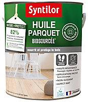 Huile parquet Syntilor biosourcé Nature Protect incolore 5L