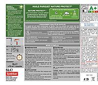 Huile Parquet Syntilor Nature Protect incolore 5L