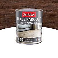 Huile pour parquet 2 en 1 Syntilor Noir 1L
