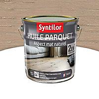 Huile pour parquet Syntilor 2 en 1 Gris clair 2,5L