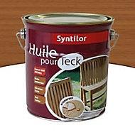 Huile pour teck aspect mat naturel Syntilor 2,5L