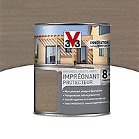 Imprégnant protecteur V33 Bois grisé 1L - 8 ans