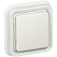 Interrupteur complet Legrand Plexo en saillie blanc