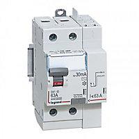 Interrupteur différentiel 2 bornes 63A - 30mA Type AC LEGRAND
