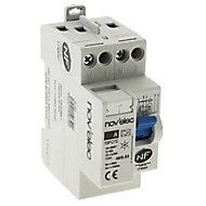 Interrupteur différentiel 30mA - 40/2 TYPE A Nov'Elec