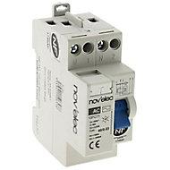 Interrupteur différentiel 30mA - 40/2 TYPE AC Nov'Elec