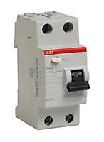 Interrupteur différentiel 30MA 40A type A ABB