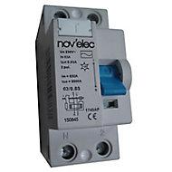 Interrupteur différentiel 30mA 63A type AC Nov'Elec