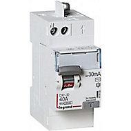 Interrupteur différentiel automatique DX3 30 mA-40A type AC Legrand