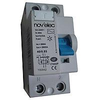 Interrupteur différentiel Nov'Elec 30mA - 40A - typeAC