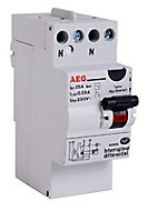 Interrupteur differentiel 30mA 25A type AC AEG